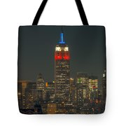 Empire State Building 911 Tribute Tote Bag