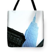 Empire State Building Tote Bag by Dave Bowman