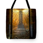 Empire State Building - Magnificent Lobby Tote Bag