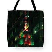 Empire State Building Reflection Tote Bag