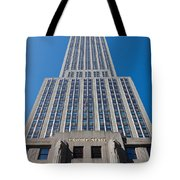 Empire State Building Rising I Tote Bag