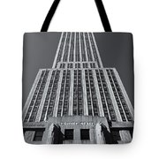 Empire State Building Rising II Tote Bag