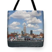 Empire State From The Water Tote Bag