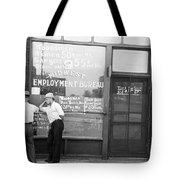 Employment Bureau, 1937 Tote Bag