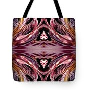 Empress Abstract Triptych Tote Bag