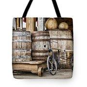 Emptied Barrels Tote Bag