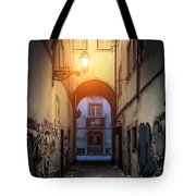 Empty Alley Tote Bag