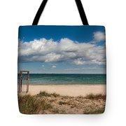 Empty Beach Tote Bag