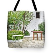 Empty Cafe Tote Bag
