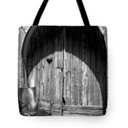 Empty Chair Playing With Shadows Tote Bag