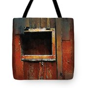 Empty Frame Tote Bag