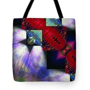 Empty Hearted Sky Tote Bag