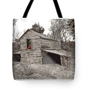 Empty Old Barn Tote Bag
