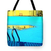 Empty Public Swimming Pool Bronx New York City Tote Bag