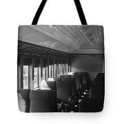 Empty Railway Coach Tote Bag