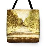 Empty Road Tote Bag