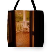 Empty Rocking Chair Tote Bag