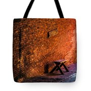 Empty Seat On A Hill Tote Bag