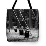 Empty Swings Tote Bag