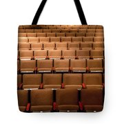 Empty Theater Chairs In Ventura Arts Tote Bag