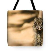 Emu Portrait Tote Bag