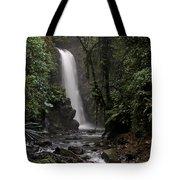 Encantada Waterfall Costa Rica Tote Bag