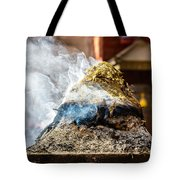 Encens Burning Tote Bag