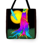 Enchanted Dream Tree Tote Bag