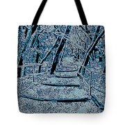 Enchanted Forest In The Winter Tote Bag