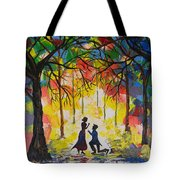Enchanted Proposal Tote Bag