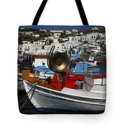 Enchanted Spaces Mykonos Greece 2 Tote Bag
