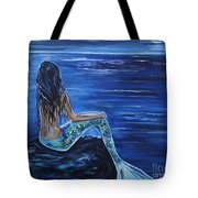 Enchanting Mermaid Tote Bag by Leslie Allen