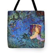 Enchanting Snow Forest Tote Bag