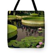 Enchanting Water Garden Tote Bag