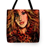 Enchanting Woman Tote Bag