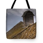 End Of An Era Roof Detail Tote Bag