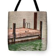 End Of Small Pier Tote Bag