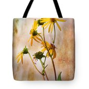End Of Summer Bouquet Tote Bag