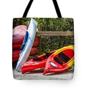 End Of Summer Fun Tote Bag by Carolyn Marshall