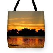End Of Summer Sunset Tote Bag
