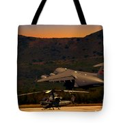 End Of The Day Departure Tote Bag