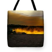 End Of The Day In The Field Tote Bag