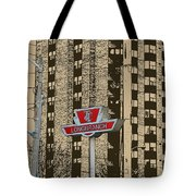 End Of The Line At Long Branch Tote Bag