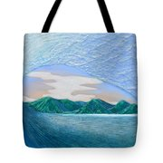 End Of The Road Tote Bag by Nathan Ledyard