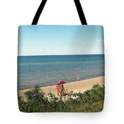 End Of The Season At Wendt Beach Park Tote Bag