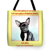 End The Puppy Mills Tote Bag