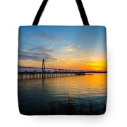 End To The Day Tote Bag