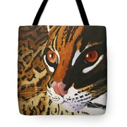 Endangered - Ocelot Tote Bag