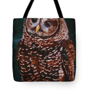 Endangered - Spotted Owl Tote Bag