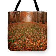 Endless Autumn Tote Bag by Jacky Gerritsen